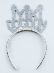 Parti - İyi Ki Doğdun Simli Gümüş Taç