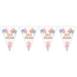 Parti Dünyası - İyi ki Doğdun Soft Renk Balonlu Bayrak Afiş 2 metre