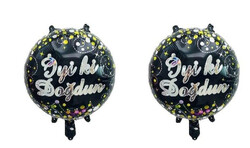 Parti Dünyası - İyiki Doğdun Folyo Balon 2 Adet