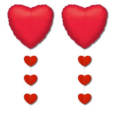 Kalpler Folyo Balon Kuyruğu