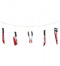 Parti Dünyası - Kanlı Keskin Aletler Garlent 172 cm