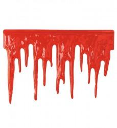 Parti Dünyası - Kanlı Plastik Dekor Süs 60X40 CM