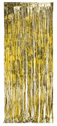 Parti Dünyası - Kapı Perdesi Metalik Altın Renk 91 x 240 cm