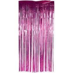 Parti Dünyası - Kapı Perdesi Fuşya Renk 91 x240 cm