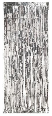 - Kapı Perdesi Gümüş Renk