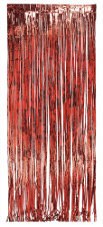 Parti Dünyası - Kapı Perdesi Kırmızı Renk