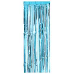 Parti Dünyası - Kapı Perdesi Mavi Renk 100 x 220 cm