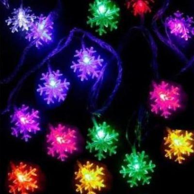 Kar Tanesi Şekilli Led Işık