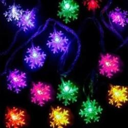 Parti Dünyası - Kar Tanesi Şekilli Led Işık