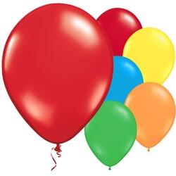 Parti Dünyası - Karışık Renkli 10 lu Latex Balon