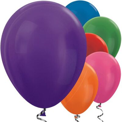 Karışık Renkli METALİK 10 lu Latex Balon