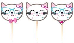 Parti Dünyası - Kedicikler Partisi Kürdan 10 Adet
