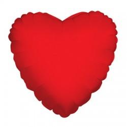 Parti Dünyası - Kırmızı Kalp Folyo Balon