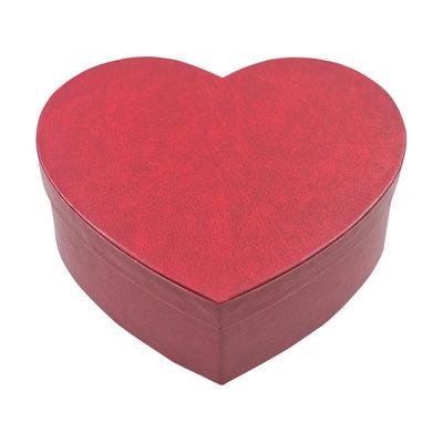 Kırmızı Kalp Orta Boy Kutu