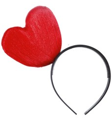Parti - Kırmızı Kalpli Taç