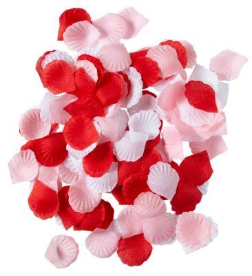 Parti - Kırmızı ve Pembe Gül Yaprağı 150 adet