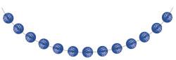 Parti Dünyası - Kobalt Mavi Mini Toplar Garlent 275 cm
