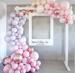 Parti Dünyası - Kolay Balon Dekorasyonu İçin Balon Şeridi 5 m