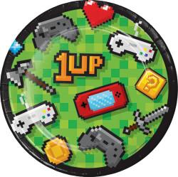 Parti Dünyası - Konsol Oyunları Partisi Pasta Tabağı 8 Adet