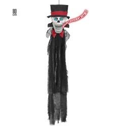 Parti - Konuşan-Göz Kırpan İskelet Asılabilir Dekor 110 cm