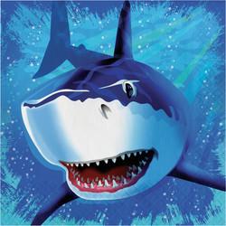 Parti - Köpek Balığı Peçete 16 Adet
