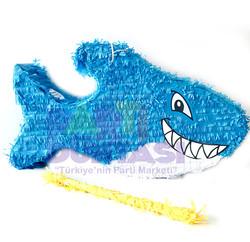 Parti Dünyası - Köpek Balığı Şekilli Pinyata ve Sopası