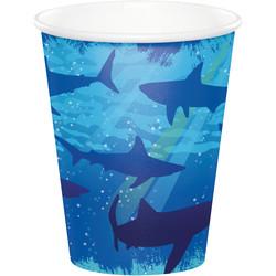 Parti Dünyası - Köpek Balığı Partisi Bardak 8 Adet