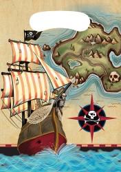 Converting - Korsan Haritası Hediye Poşeti 8 li
