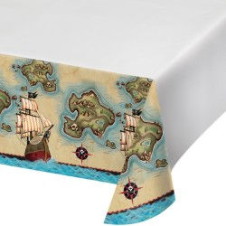 - Korsan Haritası Masa Örtüsü