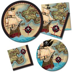 - Korsan Haritası Partisi SÜPER Parti Seti