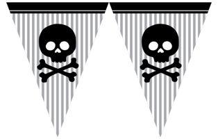 Korsan Partisi Bayrak Afişi