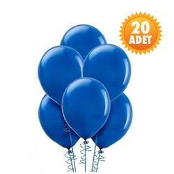 Parti Dünyası - Koyu Mavi 20 Li Latex Balon