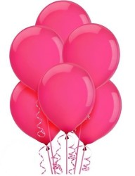 Parti Dünyası - Koyu Pembe 100 lü Balon