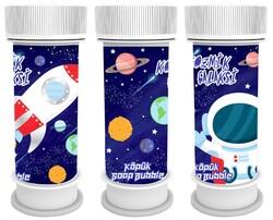 Parti - Kozmik Galaksi 6 Lı Köpük Baloncuk