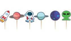Parti Dünyası - Kozmik Galaksi Kürdan 10 Adet
