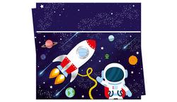 Parti Dünyası - Kozmik Galaksi Masa Örtüsü 120 x 180 cm