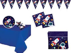 Parti - Kozmik Galaksi Parti Seti 16 Kişilik