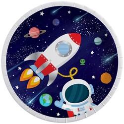 Parti Dünyası - Kozmik Galaksi Tabak 8 Adet