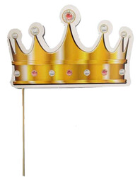 Parti Dünyası - Kral Tacı Fotoğraf Aksesuarı 10 Adet