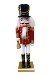 Parti Dünyası - Kurşun Asker Fındıkkıran Kral Dekoratif Figür 30 cm