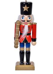 Parti Dünyası - Kurşun Asker Üniformalı Dekoratif Figür 13 cm