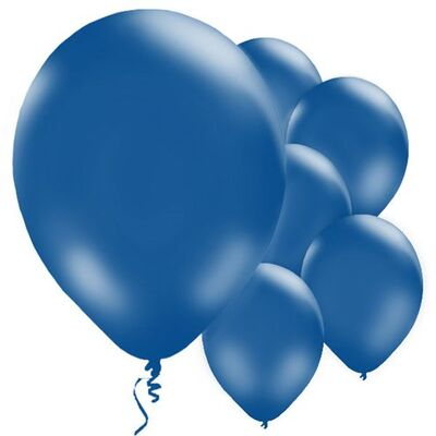 Lacivert 10 Adet Balon