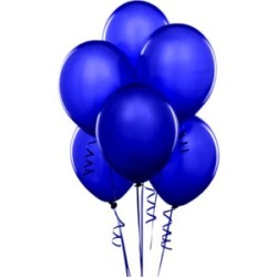 Parti Dünyası - Lacivert 100 Lü Latex Balon