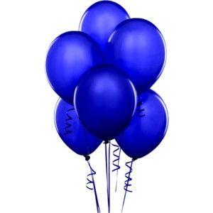 Lacivert 100 Lü Latex Balon