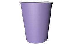 Parti - Lila Renk Karton Bardak 8 Adet