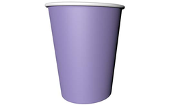 Parti Dünyası - Lila Renk Karton Bardak 8 Adet