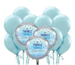 Parti Dünyası - Little Star Mavi Balon Demeti 23 Adet