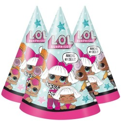 Parti Dünyası - LOL Bebek Şapka 6 Adet