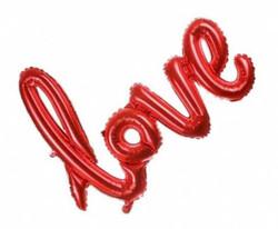 Parti Dünyası - Love Büyük Boy Folyo Balon