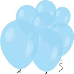 Parti - Makaron Mavi 10 Lu latex Balon Küçük Boy